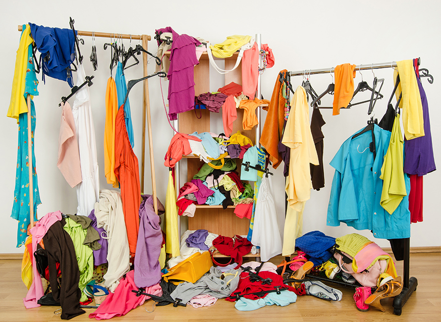 Why Do You Have A Full Wardrobe But Nothing To Wear?